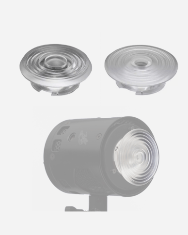 CLIP-ON FRESNEL SET luci al plasma hive