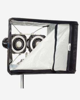 luci al plasma DOUBLE HORNET SOFTBOX KIT