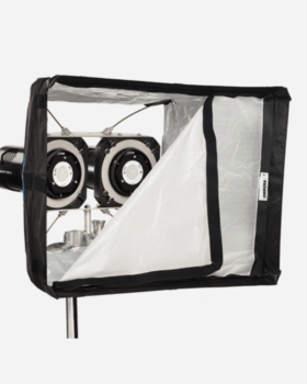 luci al plasma DOUBLE WASP SOFTBOX KIT