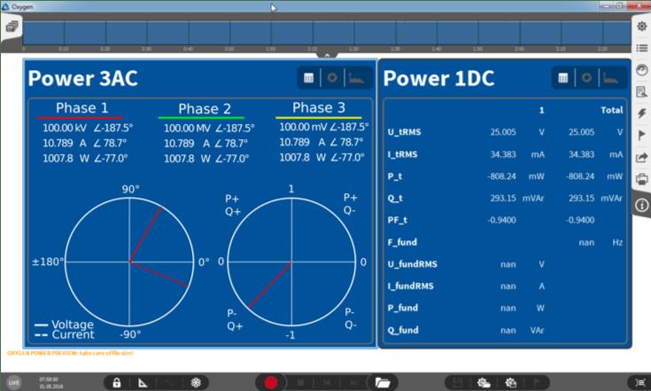 monitoraggio potenza