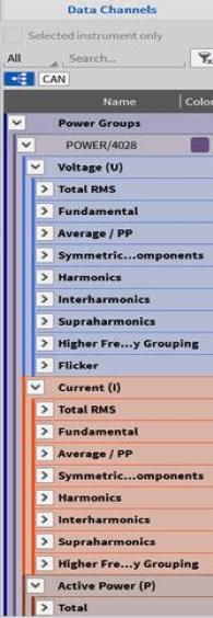 menu di configurazione