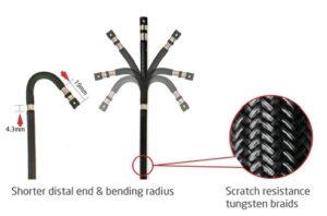 endoscopio flessibile a fibre ottiche