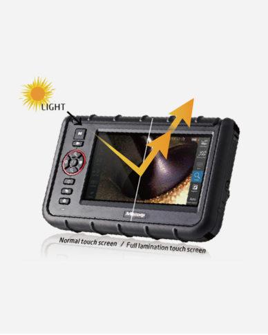 videoendoscopio luminosità